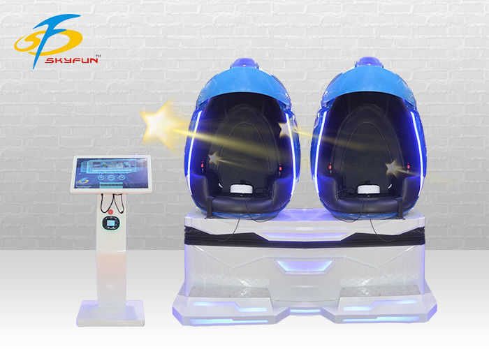 Immersive VR Double Seat 9D VR Egg Cinema Sparta Warrior Deepoon Glasses